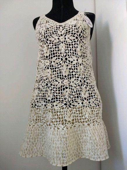 12e3bce01c Compre Vestido Saida Crochê Renda no Elo7 por R  250