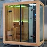 Factory Direct 7-Color LED Super Shower Room with Steam Sauna