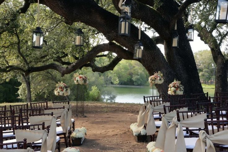 Outdoor country chic wedding