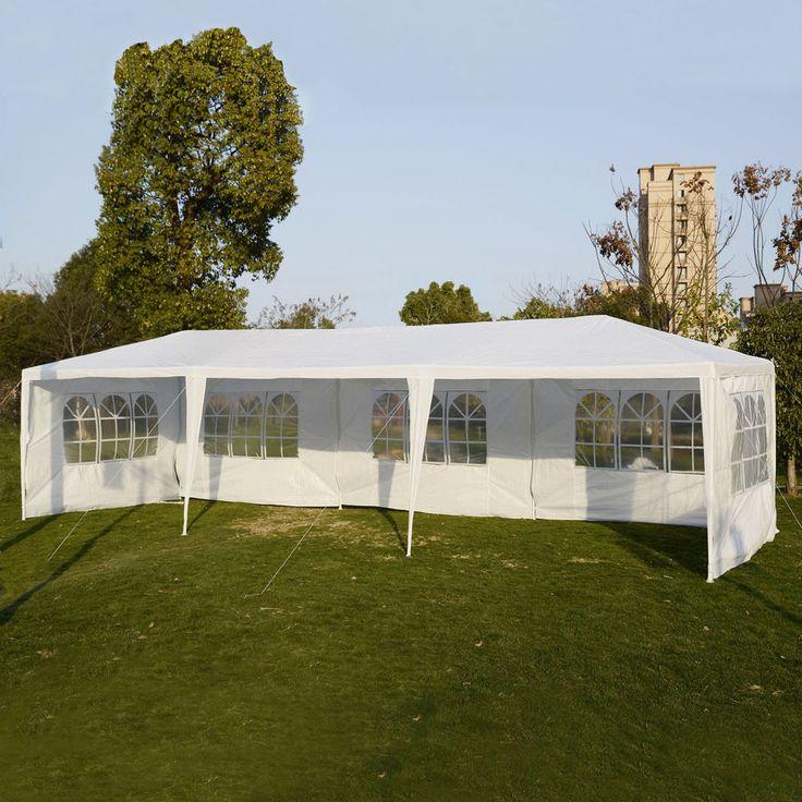 10'x30' Party Wedding Outdoor Patio Tent Canopy Heavy duty Gazebo Pavilion Event #PolarAurora