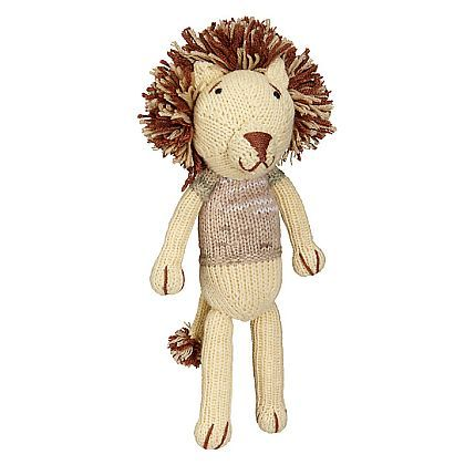 Lion Knitted Doll