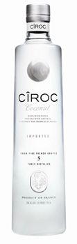 Cîroc Coconut Vodka is a creamy blend of coconut and tropical fruit flavors
