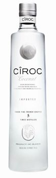 Cîroc Coconut Vodka is a creamy blend of coconut and tropical fruit flavors