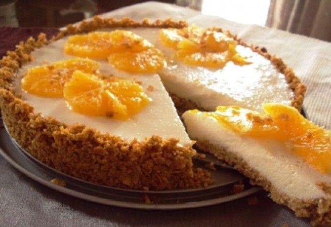 Görög joghurt és corn flakes torta recept képpel. Hozzávalók és az elkészítés részletes leírása. A görög joghurt és corn flakes torta elkészítési ideje: 28 perc