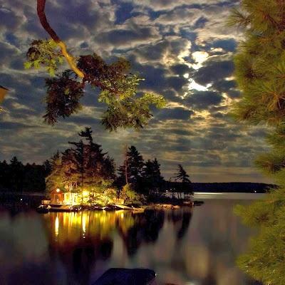 good night. Bonito lugar..