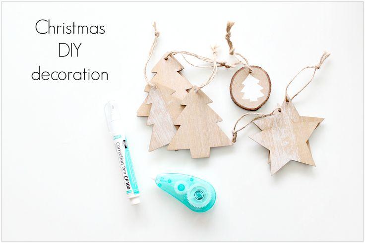 Świąteczne DIY w kilka minut! Jak w prosty i szybki sposób zrobić dekoracje na choinkę.