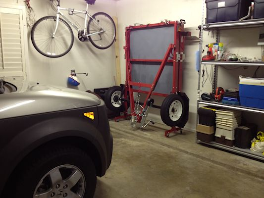 d ring shackle harbor freight. haul master folding trailer stored in the garage. found at harbor freight d ring shackle
