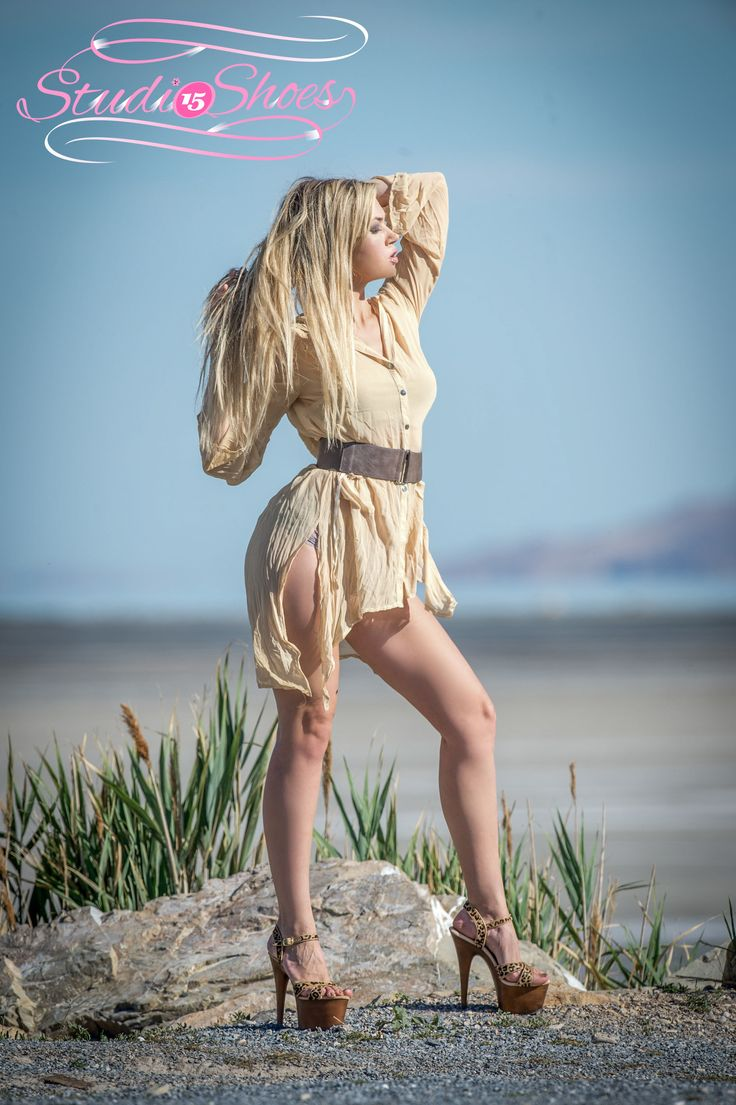 Shoot at the Great Salt Lake in Utah USA by Bruce Jenkins Photography for Studio 15 Shoes