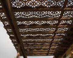 ótimo p os espelhos da escada Parasoleil patterns mediterranean outdoor umbrellas