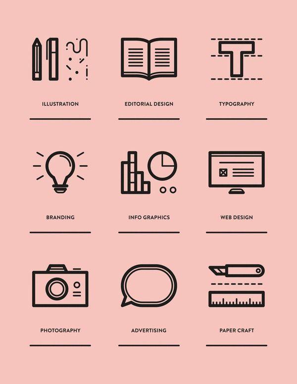 Graphic Print Design Inspiration In Minimal Graphic Design