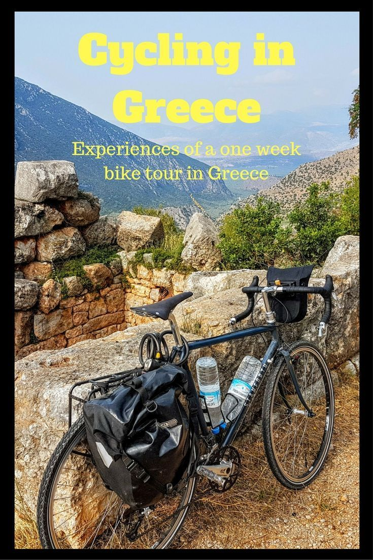 My experiences cycling in Greece on a one week bike tour - Includes video and commentary!