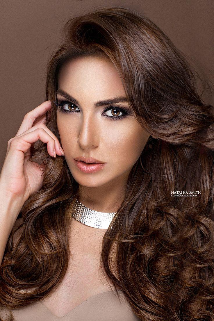 38 best bridal hair & makeup - darker tones images on pinterest