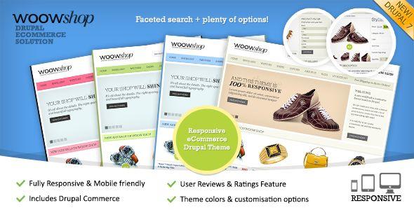 WoowShop - Premium Drupal 7 Responsive Commerce Theme | Themesnap.com