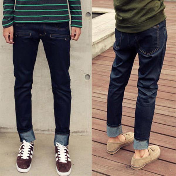 Узкие джинсы и брюки