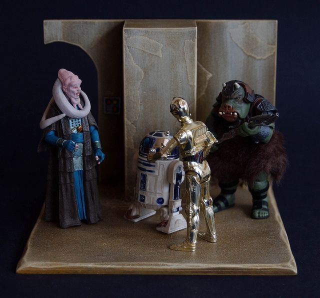 Star Wars Pride Action Figure Display Diorama Vintage – Quotes of