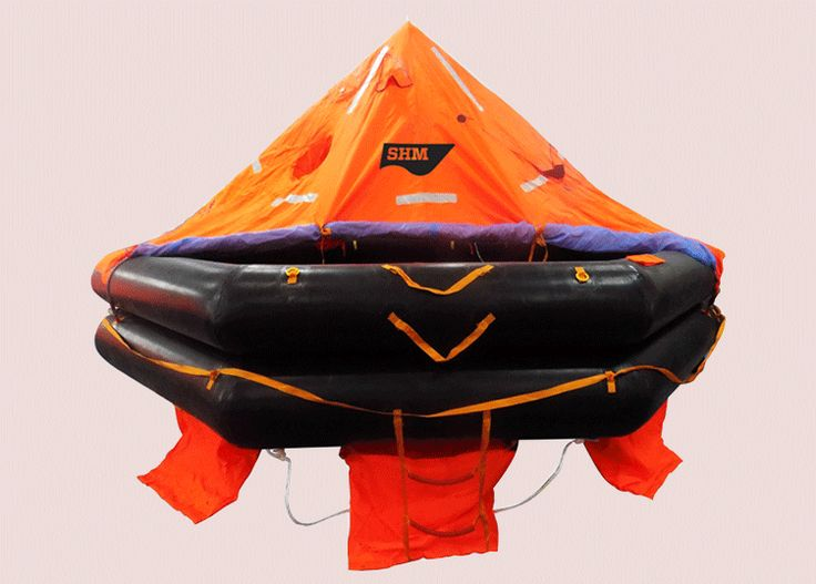 Inflatable Liferafts India - SHM Group  SHM manufacture Inflatable Liferafts in India. They are packed by sturdy waterproof fiber glass containers to protect against sunlight and extreme weather conditions.