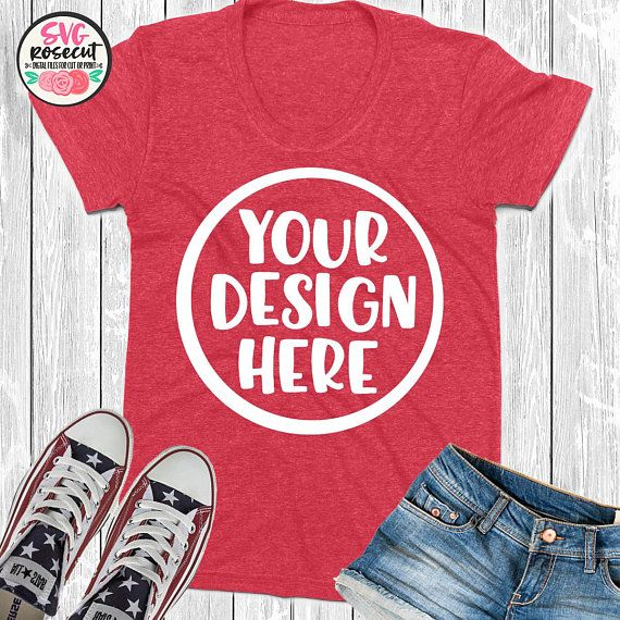 Download Download Free Red T Shirt Mockup With Jeans And Sneakers Psd Free Psd Mockups Templates Shirt Mockup Tshirt Mockup Mockup Free Psd