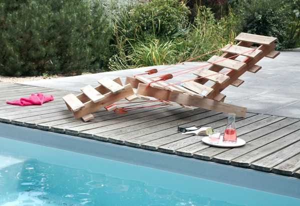 Eco friendly ideas for recycling wood pallets and making attractive garden decorations or outdoor furniture are simple and inspiring.