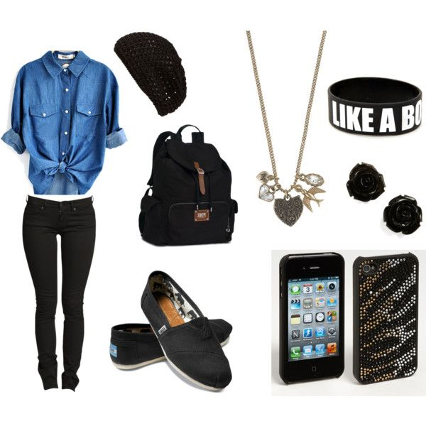 """""""High School Years"""" by fabulouslove on Polyvore"""