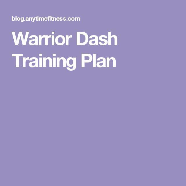 Warrior Dash Training Plan