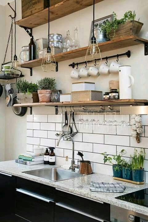 27 best Repisas,Cocina,Decoración. images on Pinterest | Repisas ...