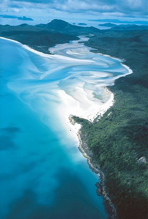 Whitehaven Beach, Australia. Dreamy.