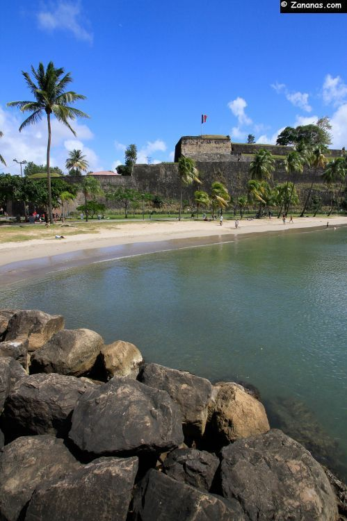 Fort Saint-Louis, Fort de France, Martinique.   RePinned by : www.powercouplelife.com
