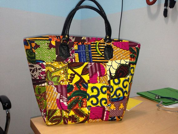 Unique handmade African Print bags by MystiQueClothingGH on Etsy, $60.00 [more at pinterest.com/azizashopping]