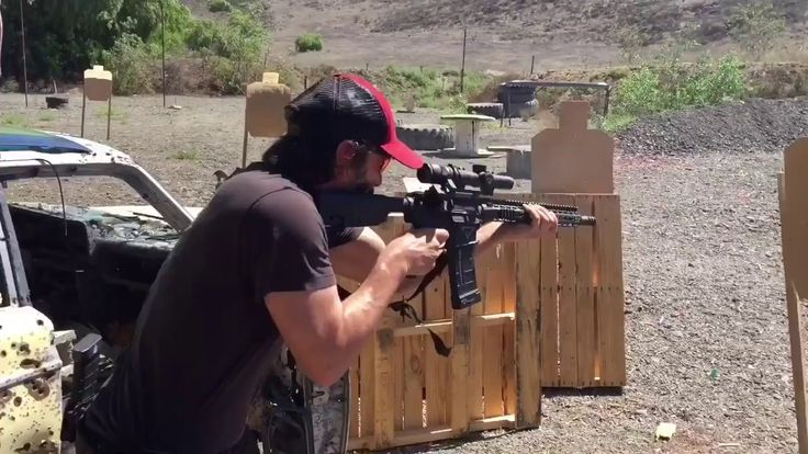 """Keanu  Reeves shredding with Taran Butler He is Definitely an Expert, when it comes to his Handling Serious Firepower. The Training for The Movie """"John Wick,"""" Most of Payed Off!"""