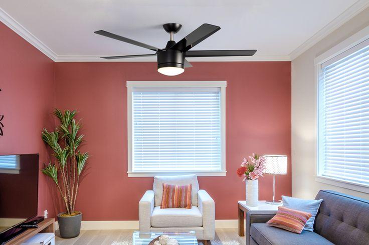 Los modelos con colores sólidos contrastan muy bien con cuartos coloridos.
