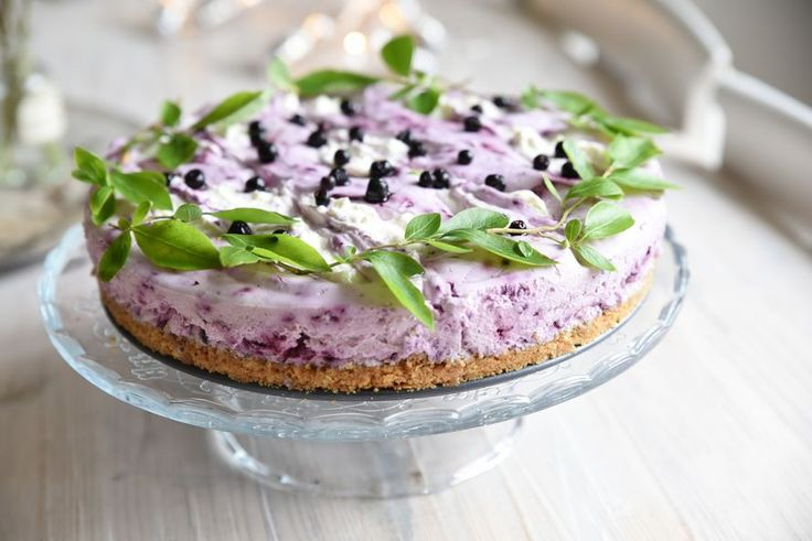 Kodin Kuvalehti – Blogit | Ruususuu ja Huvikumpu – Valkosuklaa-mustikka juustokakku