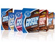 You've just finished another hard-out session at the gym – or on the field, the road or in the pool. You've pushed, lifted, run, jumped, pedalled, pumped, sweated and worked. Why would you let all that effort go to waste? Refuel with Protein Revival – packed with a massive 30g protein per serve to support maximum muscle growth, repair and recovery – it's your best post-workout recovery solution. Just lift. Drink. Repeat.