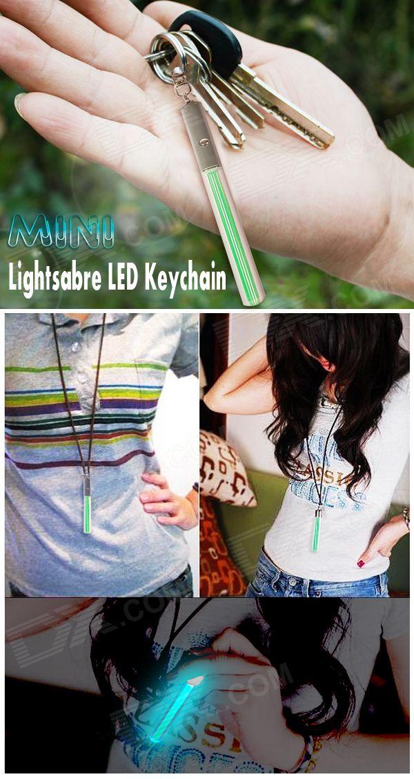 Cheap Mini Lightsabre LED Keychain (4*AG3)
