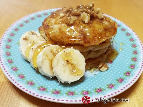 Pancakes από βρώμη #sintagespareas #pancakes #vromi