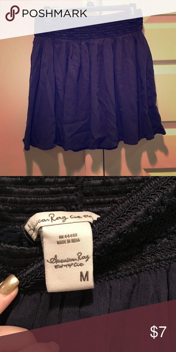 Navy American Rag skirt Navy American Rag skirt American Rag Skirts
