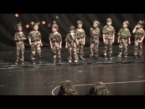 yıl sonu gösterisi altın çocuk kreş - YouTube