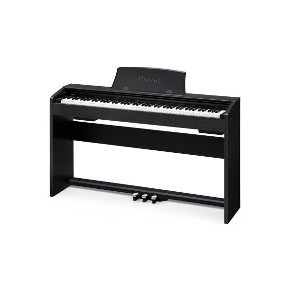 Casio Privia PX735 Digital Piano. Provides a real piano feeling in a small space with an authentic sound. Comes with intergrated stand and 3 pedals. $1,199.00