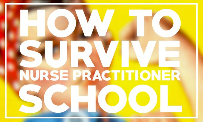 5 tips on how to survive nurse practitioner school- who knows if I'll need this pin down the road....