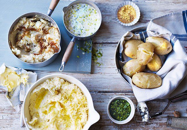 Simply Delicious Recipes for Creamed Potatoes Done 5 Ways