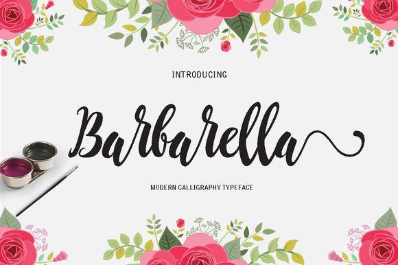 Barbarella by Danti on @creativemarket