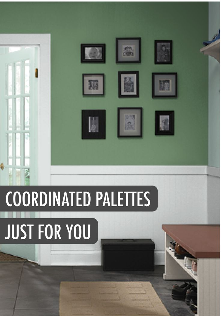 Wondering What Shade Will Look Stunning In Your Entryway? What About A Cool  Modern Mint · Behr Paint ColorsColor PaintsWall ...