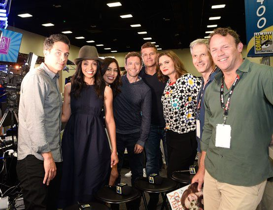 Tamara Taylor and John Boyd interview on Bones' final season.