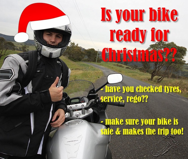 If you are going away these holidays - get your bike ready!!!  Make sure your trip is a good one and get your bike checked over. http://www.bikescape.com.au/?page_id=1177