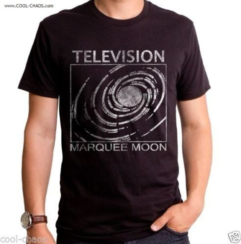 Television T-Shirt / Marquee Moon Television Band Tee