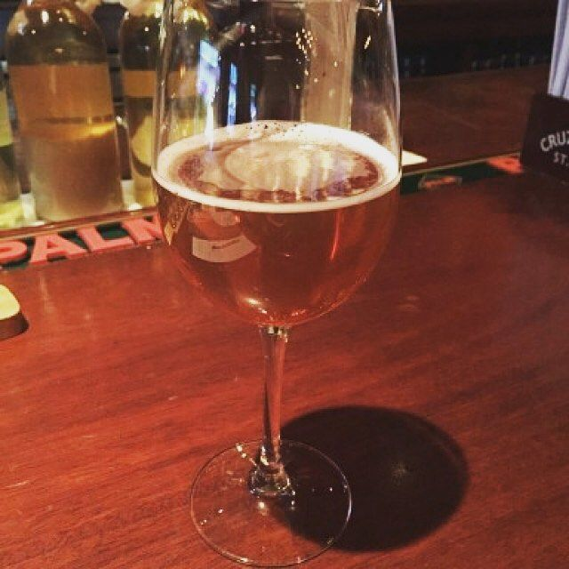 This is a challenging Gueuze not because the tart is puckering; there's a subtle funk that moves toward a grainy finish - St. Louis Gueuze Fond Tradition by Brouwerij Van Honsebrouk  #stlouisgueuzefondtradition #brouwerijvanhonsebrouck #gueuze #craftbeer