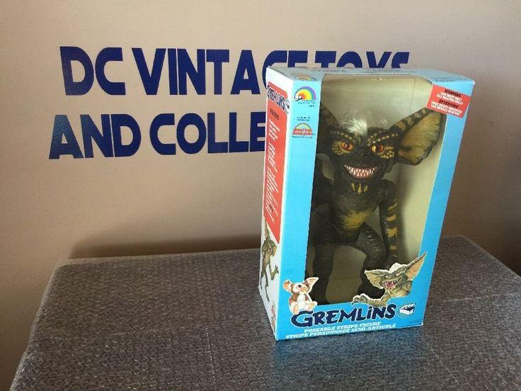 "1984 LJN The Gremlins ""Stripe"" 12"" figure Grand Toys -SEALED- Canadian Box #LJN"