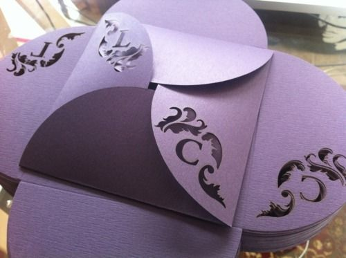 Gorgeous invitation idea: custom laser cut invitations by Belen Lazer Designs