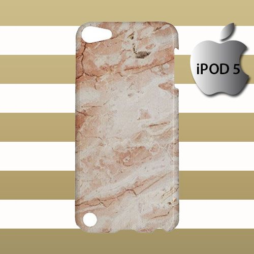 Brown Marble Pattern iPod 5 5g 5th Touch Case Cover Hardshell