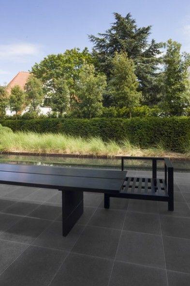 keramische terrastegel in betonlook @impermo