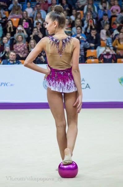 Dina AVERINA (Russia) ~ Ball @ Grand Prix Moscow 2017 ❤️❤️   Vk.com/Vika Popova_rg.